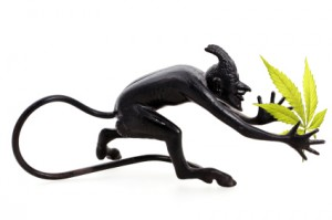 Devil figurine
